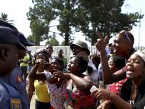 Südafrika Polizei Misshandlung