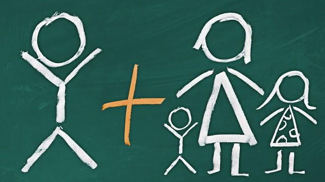 Patchwork-Familie