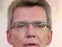 Bundesverteidigungsminister Thomas de Maizière
