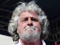 Italy: Beppe Grillo