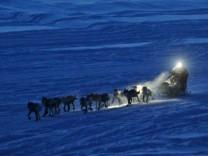 Iditarod Alaska Husky Hundeschlitten Hundeschlittenrennen Anchorage Nome