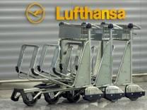 Gepäck Airport Flughafen Koffer Lufthansa