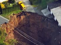 Erdabsackungen in Mitteldeutschland - Schmalkaldener Krater