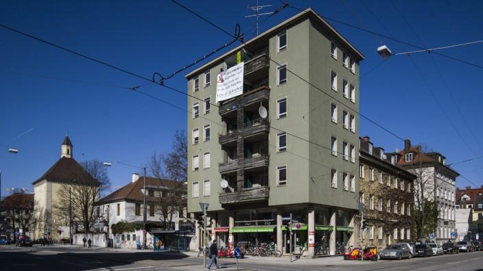 Goldgrund an der Müllerstraße 6
