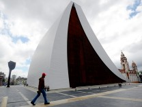 Mausoleum Nationalheld Simón Bolívar in Caracas; Venezuela; Grabstätte; Hugo Chavez