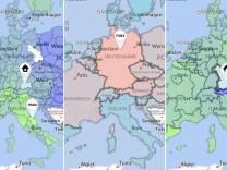 Europakarte Teaser
