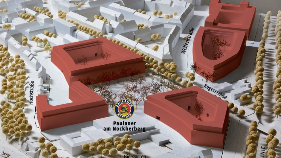 An der Bebauung des Paulaner-Areals hat sich ein Streit entzündet, wie sehr  die Stadt Wohnungspreise in Neubaugebieten beeinflussen kann.