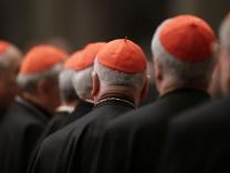 Kardinäle Missbrauch Schwarze Liste