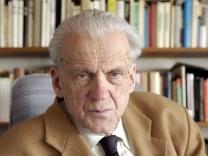 Literaturwissenschaftler Walter Jens