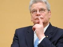 Joachim Gauck Bundespräsident, Sexismus-Debatte