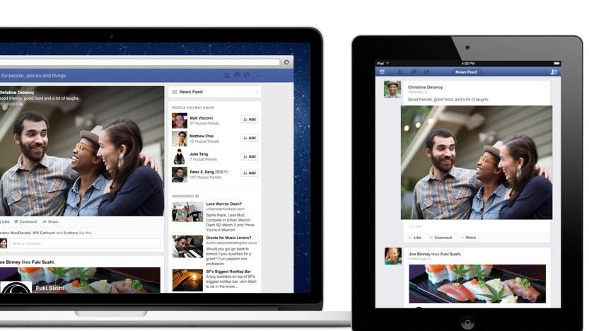 Facebook Neuer Newsfeed
