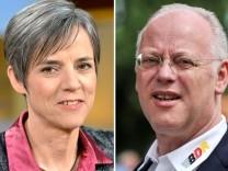 Sylvia Schenk und Rudolf Scharping