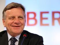 Harmut Mehdorn wird neuer BER-Chef