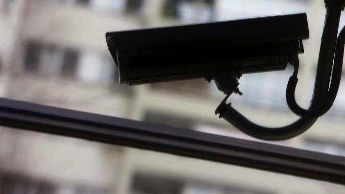 Überwachungskamera in Berlin