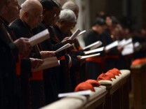 Vorbereitungen zur Papstwahl: Kardinäle