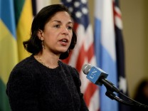 Susan Rice Nationaler US-Sicherheitsberater