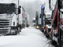 Winter Unfälle Verkehr