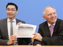 PK Rösler und Schäuble