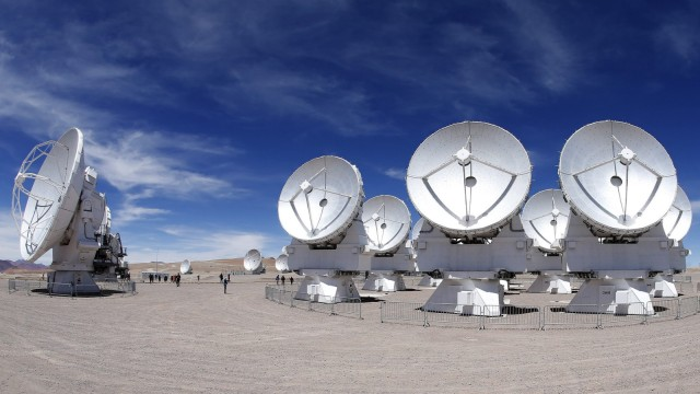 Das Teleskop Ama in Chile