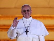 Jorge Bergoglio, Papst, Franziskus, Konklave, Papstwahl, katholische Kirche, Vatikan, Rom