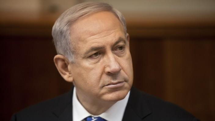 Benjamin Netanjahu, Israel, Premierminister