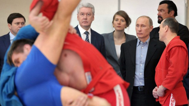 Steven Seagal, Wladimir Putin