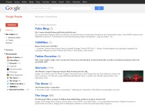 Google Reader RSS