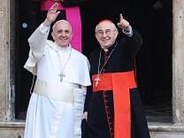 Papst Franziskus Vatikan Konklave Rom Petersplatz