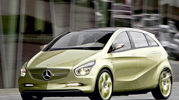 Alternative Antriebe Mercedes Concept Blue Zero