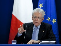 Monti EU-Gipfel Krise
