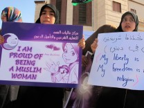 Libyan women protest in tripoli