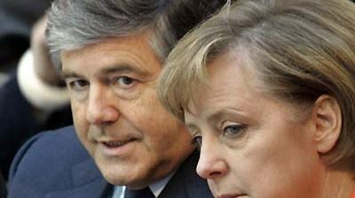 Bundestagswahl Merkel und Ackermann