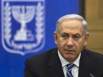 Israel's PM Netanyahu attends a Likud-Beitenu party meeting in Jerusalem