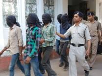 Untersuchungshaft nach Vergewaltigung in Indien