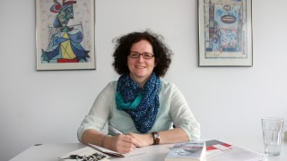 Schriftstellerin Stephanie Fey