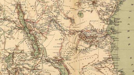 Zentralafrika David Livingstone Afrika-Forscher Tanganjikasee
