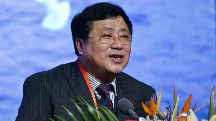 Zhao Xiyong als Vizeminister China