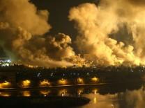 Zehn Jahre Irak-Krieg Saddam Hussein George Bush Bagdad