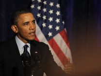 President Barack Obama delivers remarks  at the Organizing for Ac