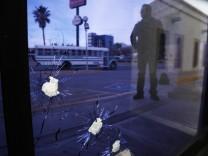 Drogenkrieg in Mexiko - Zeitung El Diario in Ciudad Juarez.