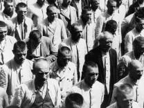 Lagerapell von Häftlingen im KZ Dachau, 1933