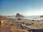 Strand Strandgeschichten Oregon, visitusa