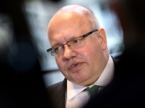Bundesumweltminister Peter Altmaier