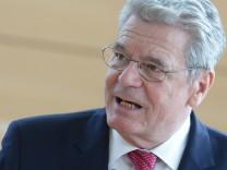 Bundespräsident Gauck  Schleswig-Holstein Sinti Roma