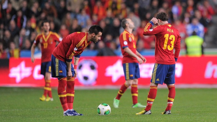 Spanien Finnland, Fußball-WM 2014 WM-Qualifikation