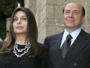 Silvio Berlusconi, Veronica Lario, Reuters
