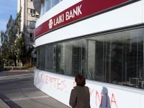 Laiki Bank Nikosia Zypern