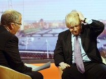 Boris Johnson, Bürgermeister London, BBC, Interview