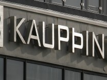 The headquarters of Iceland's Kaupthing Bank is pictured in Reykjavik