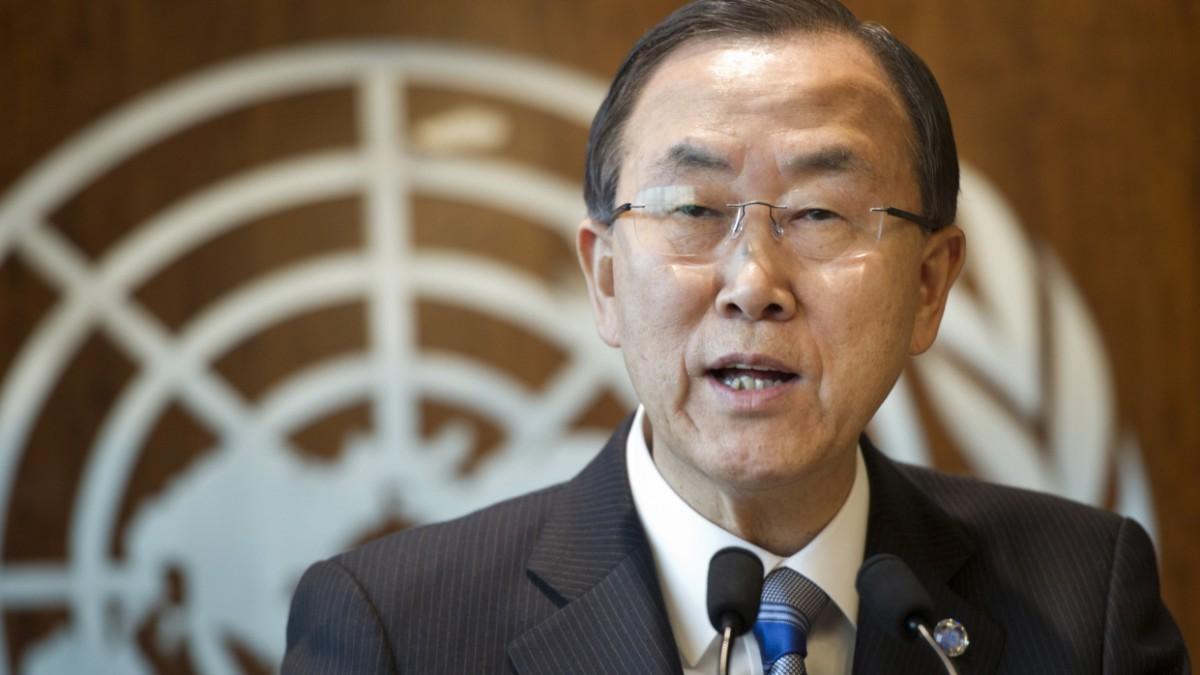 Ban fordert Kampfverband ohne UN-Mandat